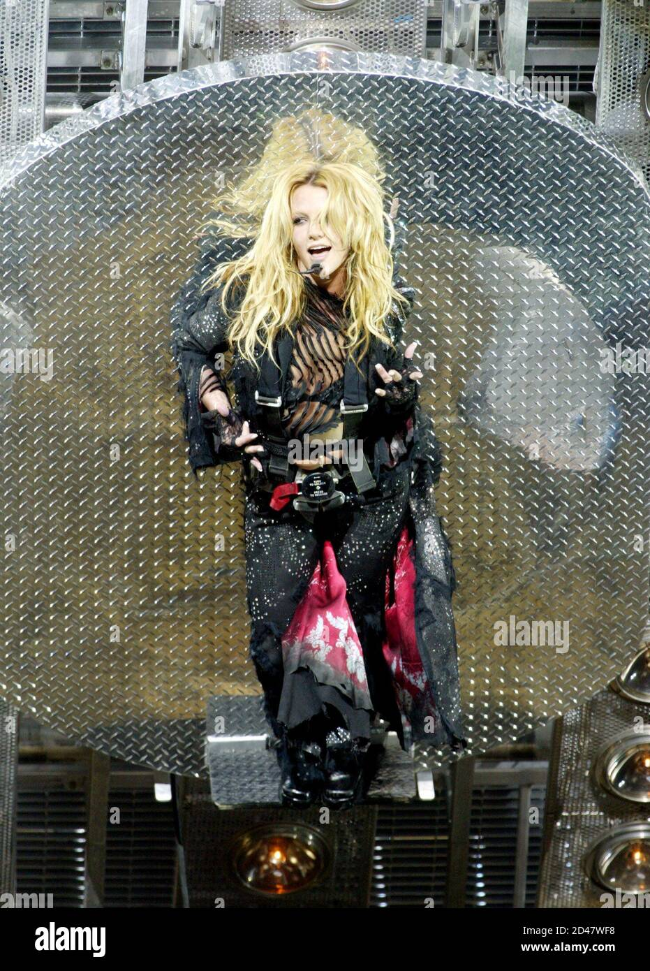 britney-spears-emerges-on-a-spinning-pla