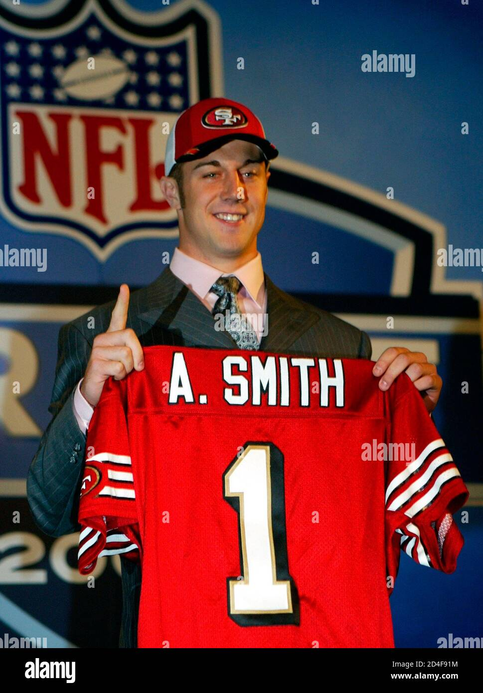 The San Francisco 49ers and NFL number one draft pick, Utah ...