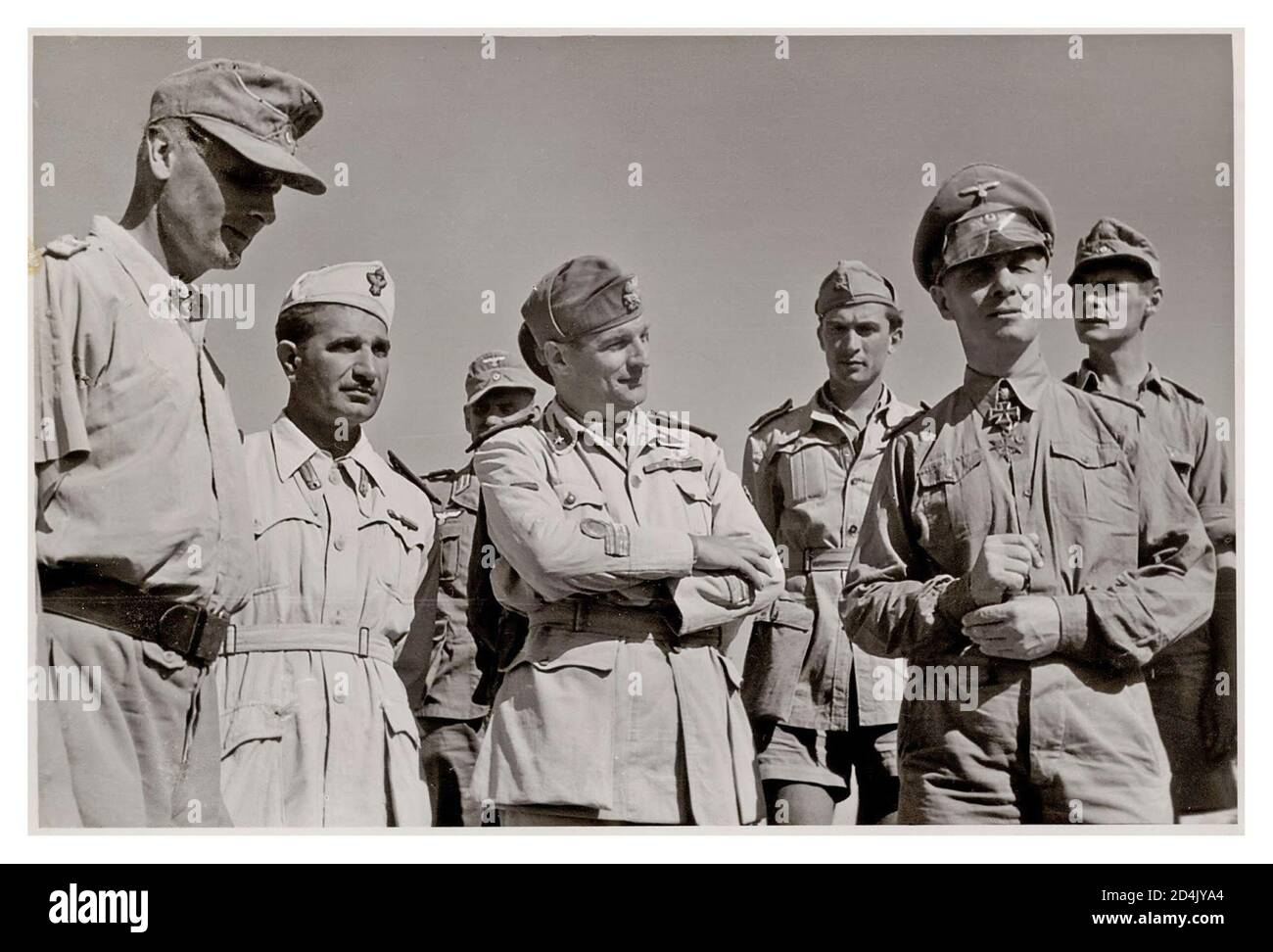 Le Général Rommel en Afrique WW2