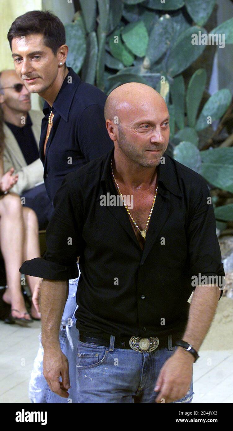 Stefano Gabbana And Domenico Dolce High Resolution Stock Photography And Images Alamy