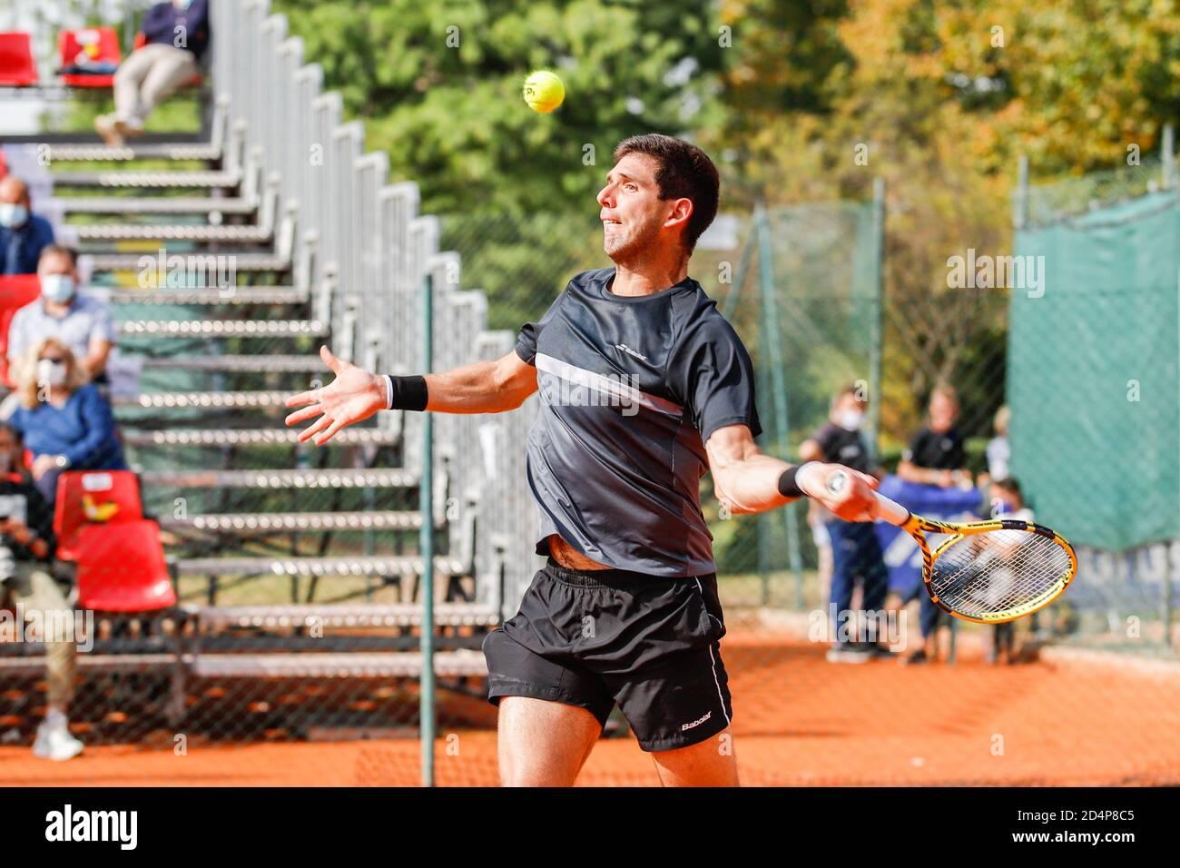Federico Delbonis during ATP Challenger 125 - Internazionali Emilia Romagna, Tennis Internationals in parma, Italy, October 09 2020 Stock Photo