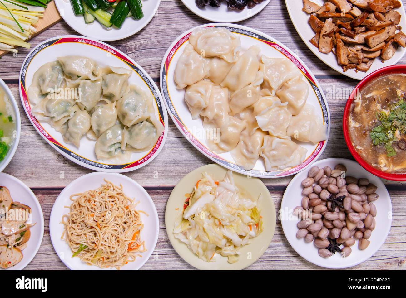 Boiled Dumpling Is Chinese Dumplings Or Potstickers In Boiling Water Dumpling Is A Dough And Wrapped Around A Filling The Dough Is Flour And The Fi Stock Photo Alamy