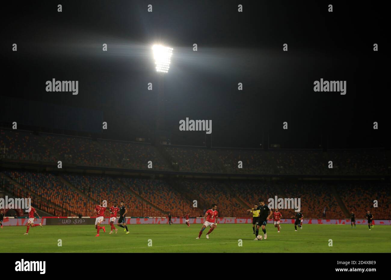 Soccer Football Egyptian Premier League Pyramids Fc V Al Ahly Cairo International Stadium Cairo Egypt October 11 2020 General View During The Match Reuters Amr Abdallah Dalsh Stock Photo Alamy