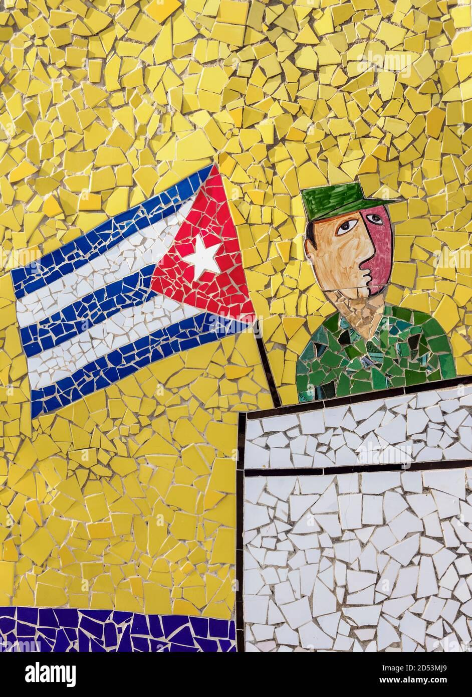 Fusterlandia, Jaimanitas Neighbourhood, Playa District, Havana, La Habana Province, Cuba Stock Photo