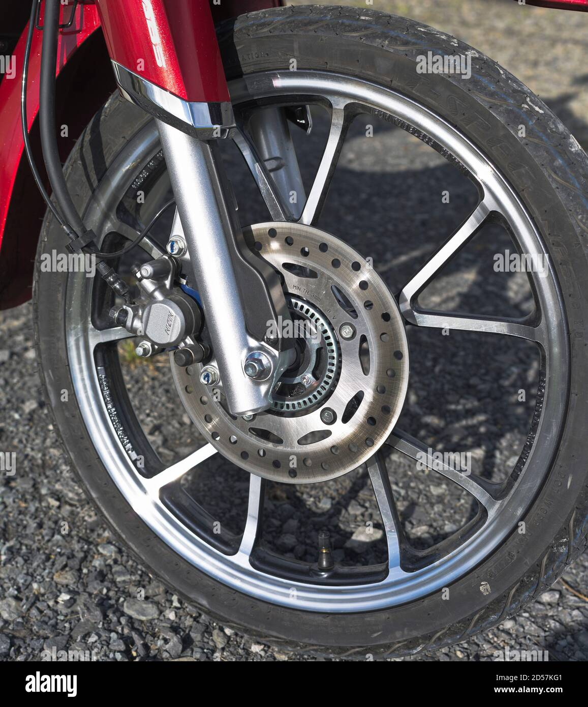 Motorbike Front Disc Brakes High Resolution Stock Photography And Images Alamy