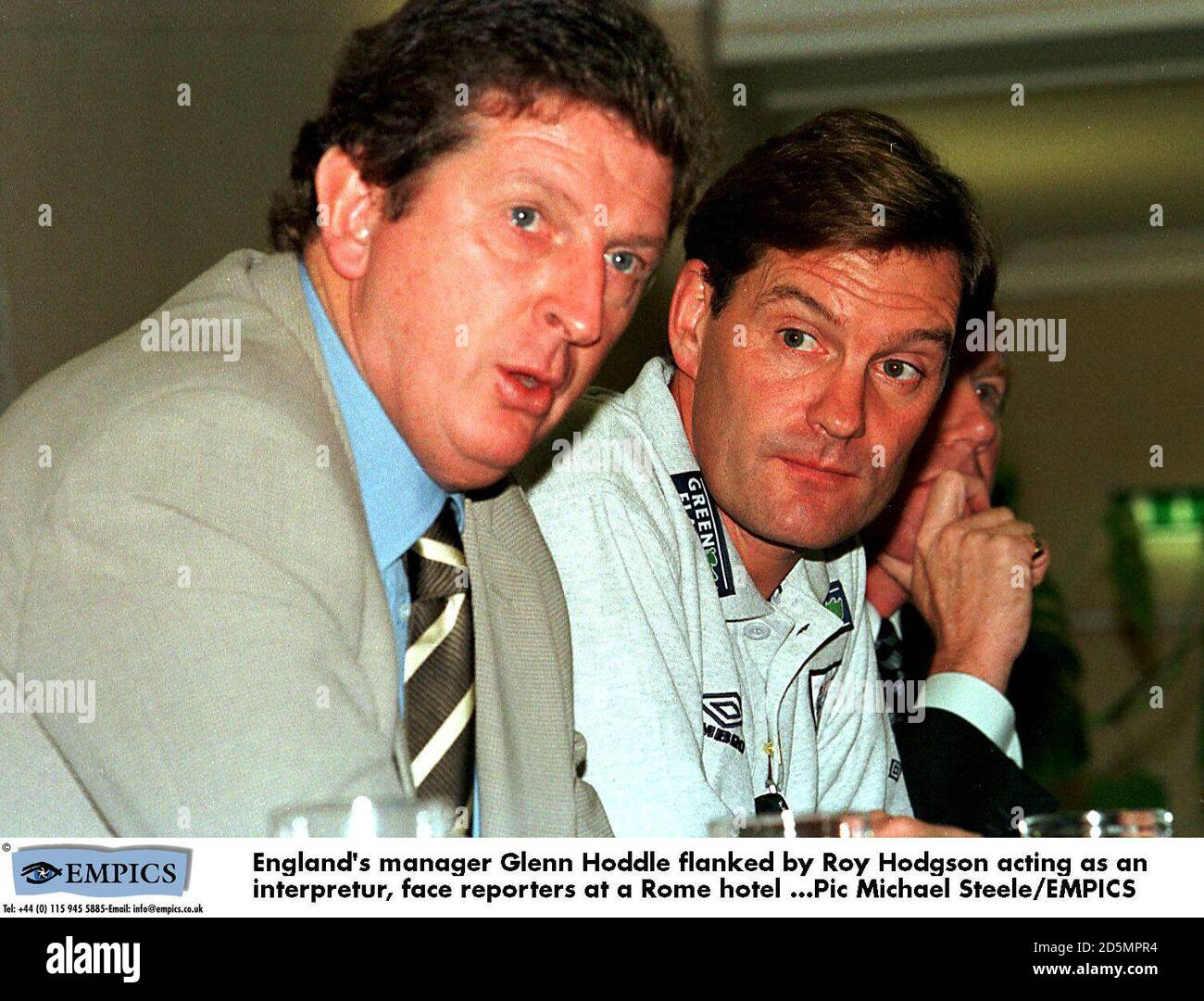 Glenn Hoddle Right High Resolution Stock Photography And Images Alamy