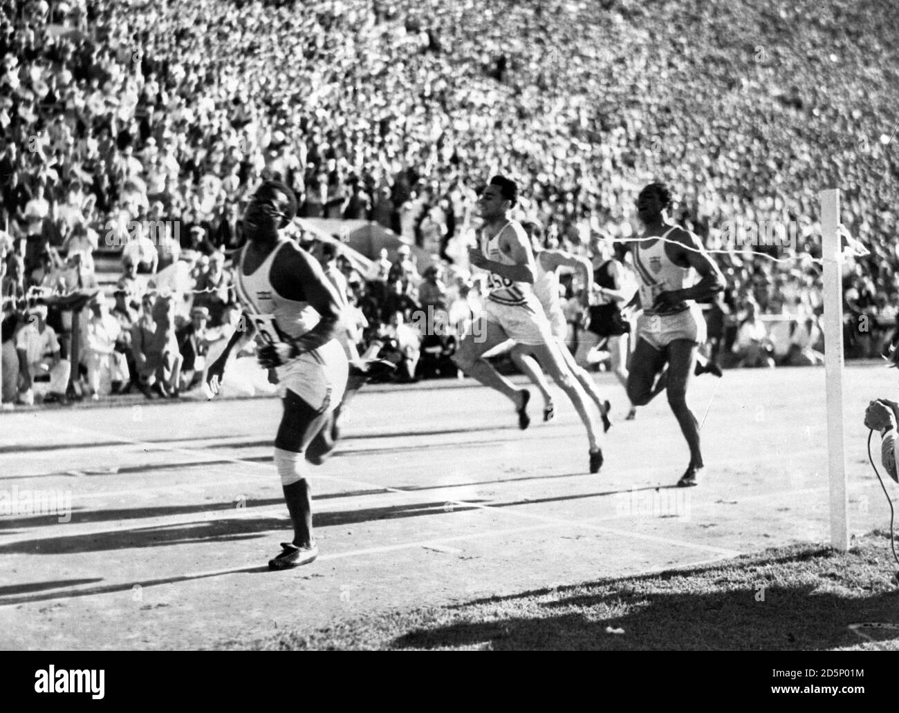 Olympic Runners Black And White High Resolution Stock Photography and  Images - Alamy