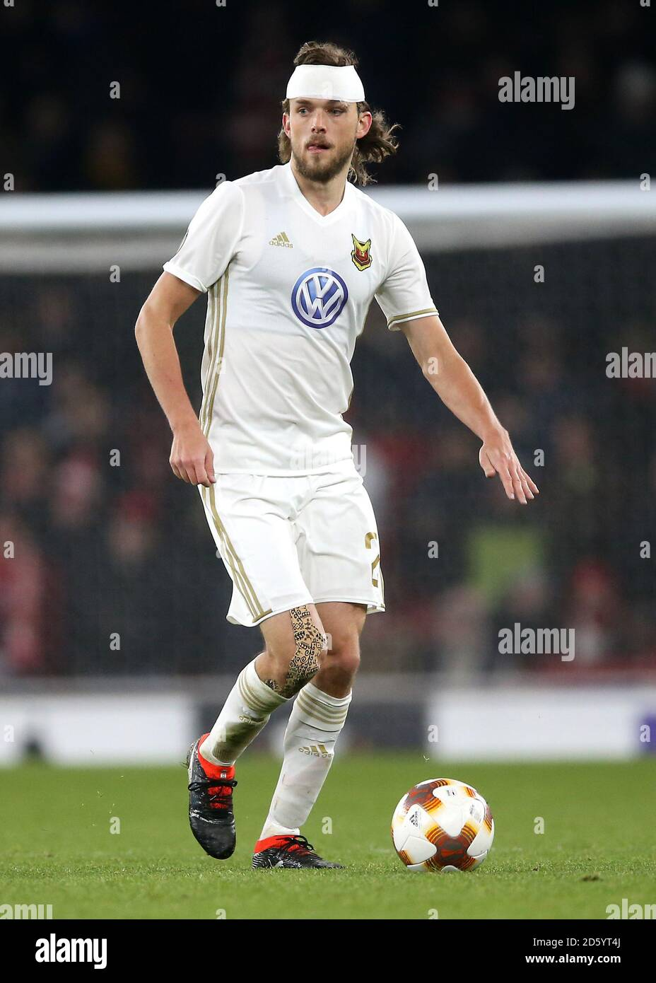 Ostersunds FK's Tom Pettersson Stock Photo