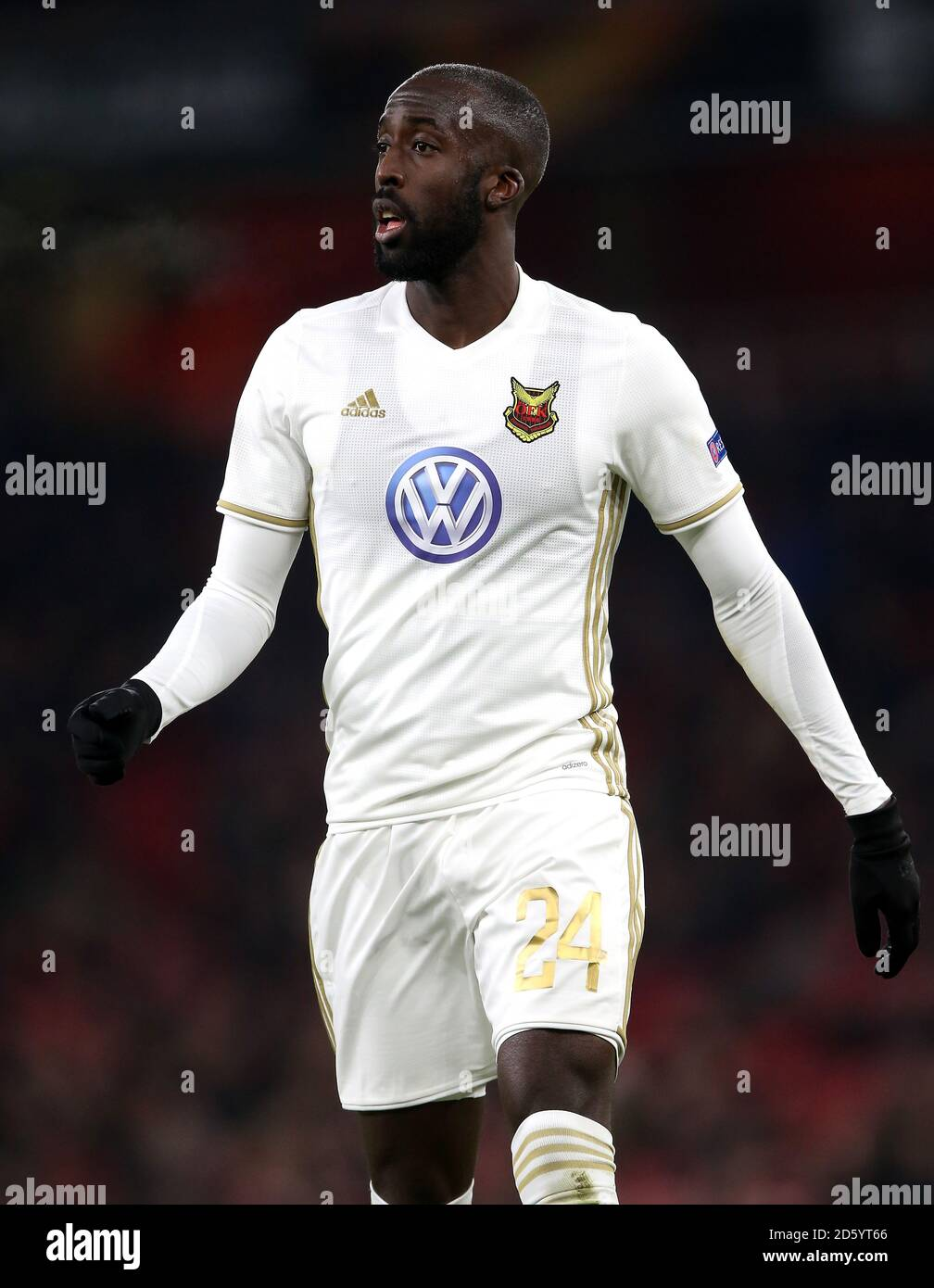 Ostersunds FK's Ronald Mukiibi Stock Photo