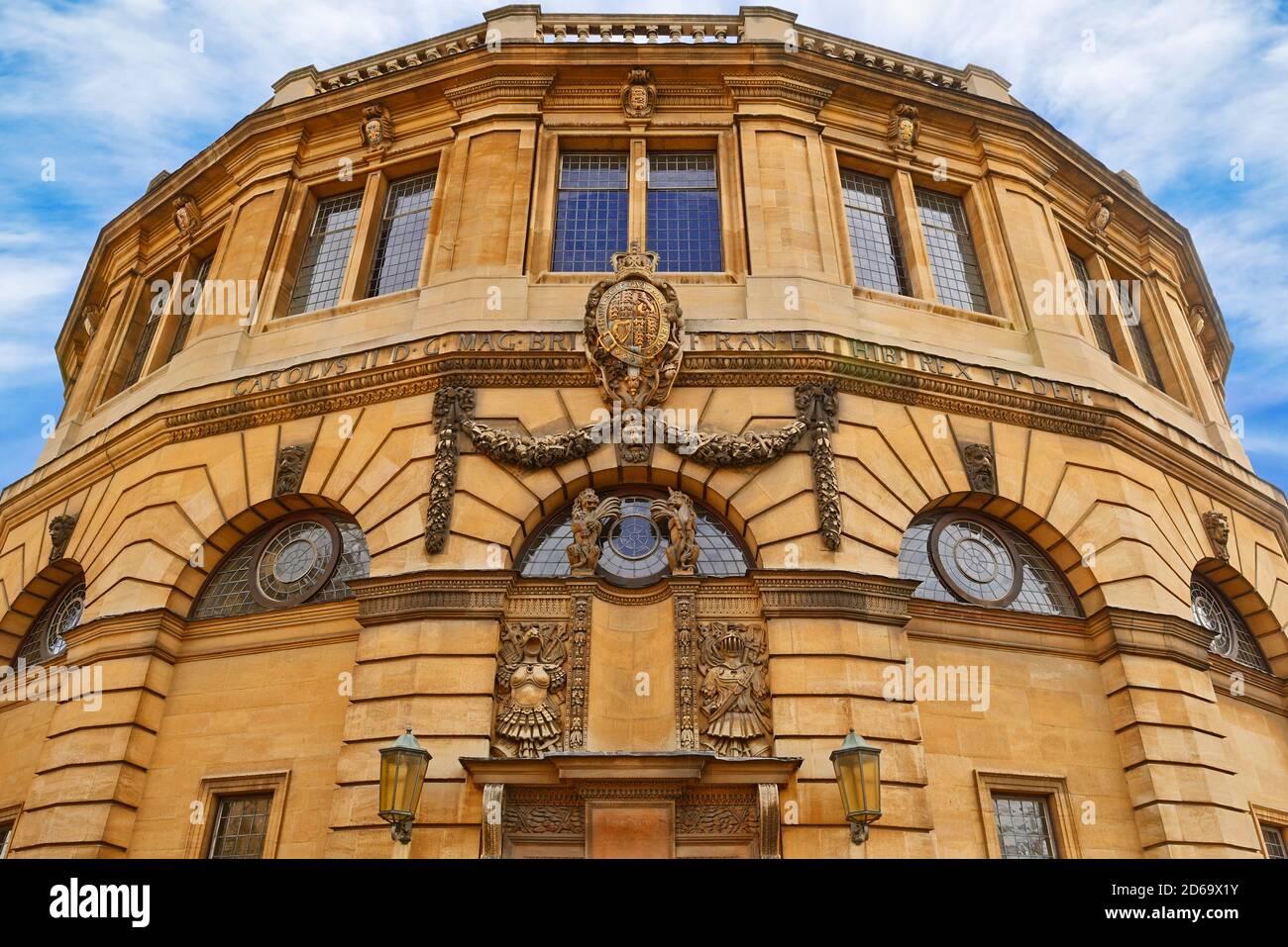 The Sheldonian Theatre, Oxford, England, United Kingdom Stock Photo