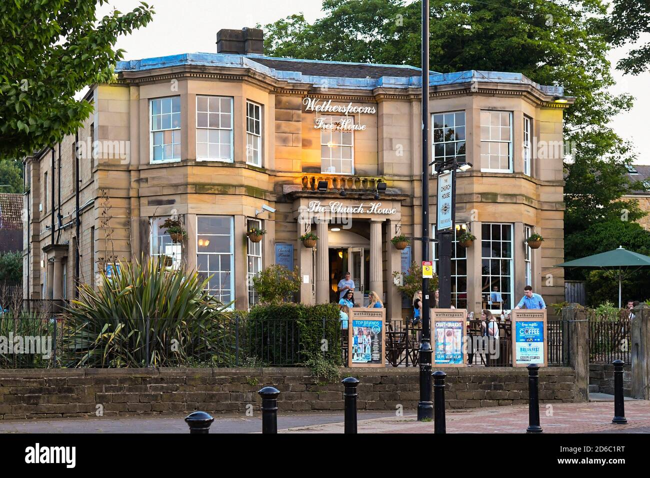 Wetherspoons pub The Church House, Wath upon Dearne, Rotherham, South Yorkshire, England, UK Stock Photo