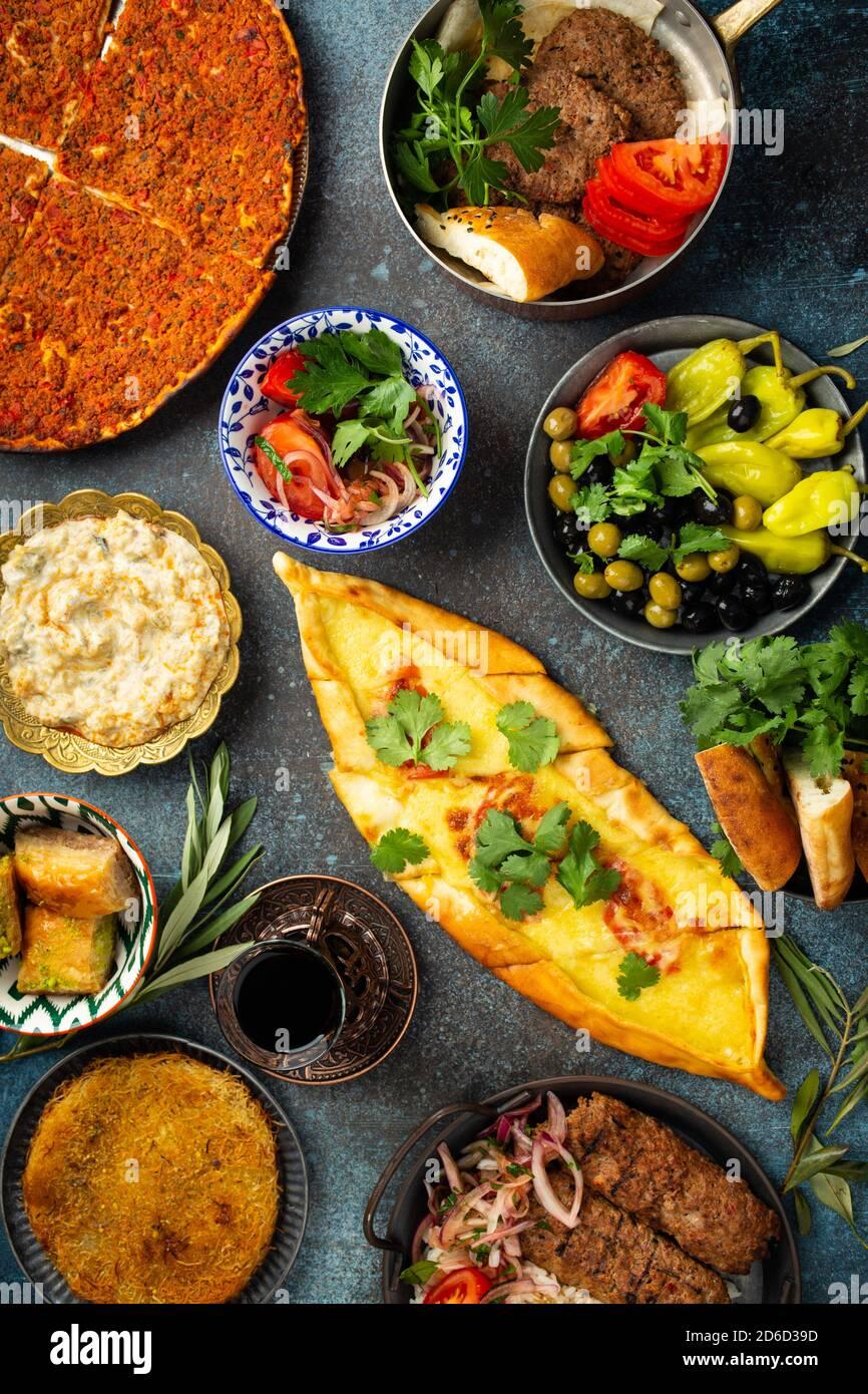 Turkish traditional food Stock Photo