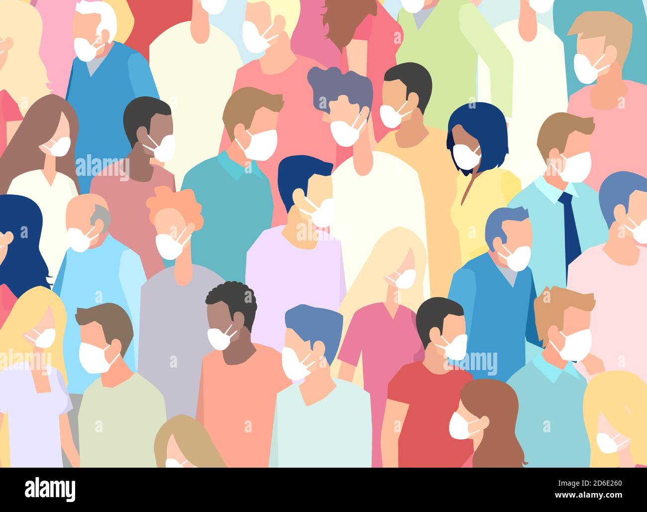 Crowded #11B VF 2020 Stock Image