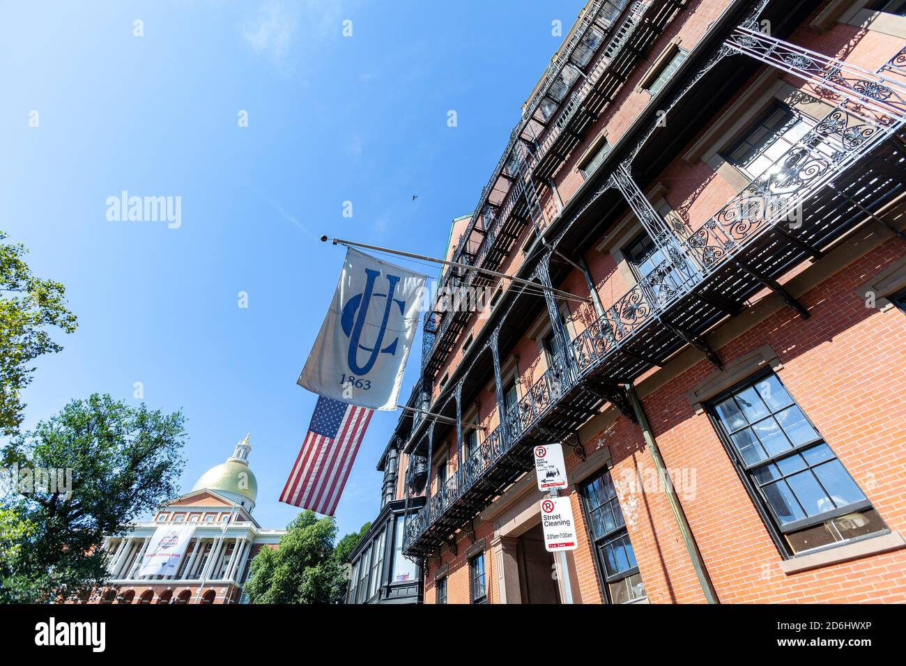 Union Club Boston High Resolution Stock Photography And Images Alamy