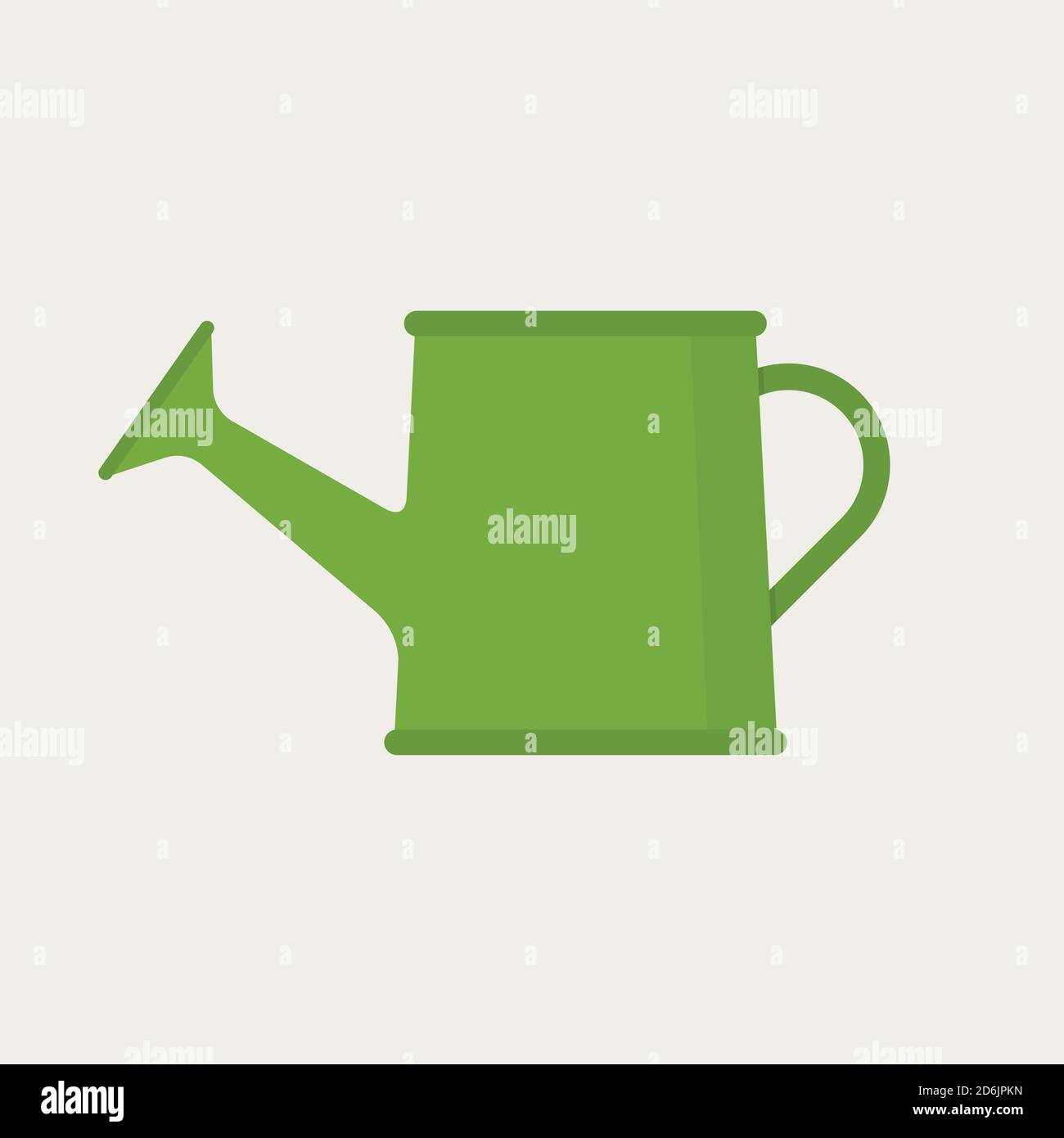 Watering Can Icon Modern Minimal Flat Design Style Vector Illustration Stock Vector Image Art Alamy