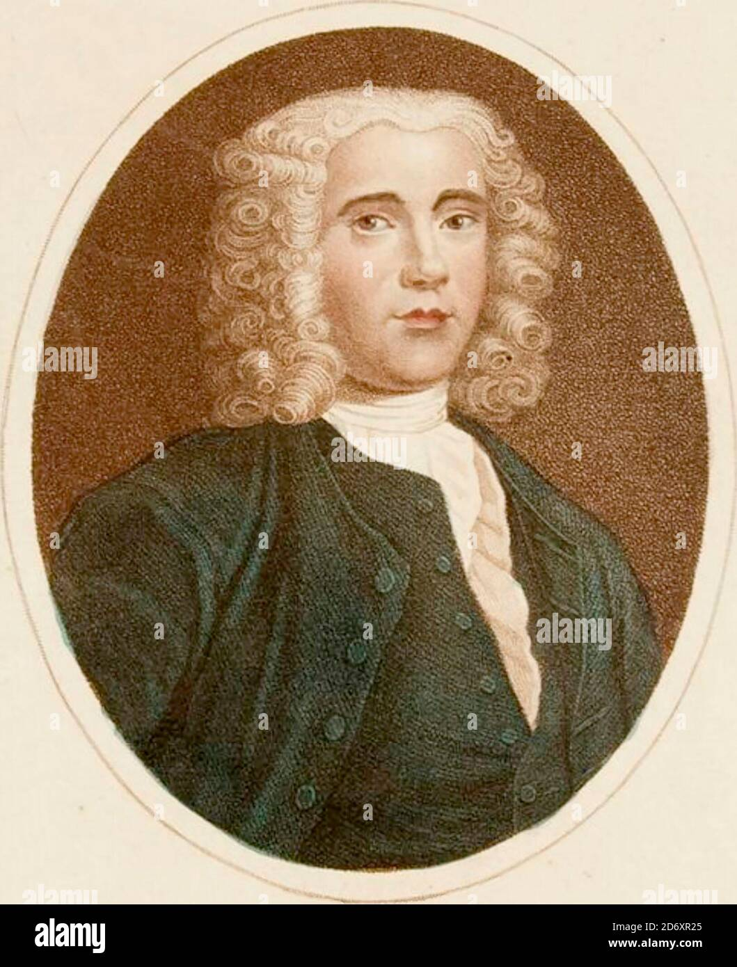 Benjamin Martin (baptized 1705; died 1782) was a lexicographer who compiled one of the early English dictionaries, the Lingua Britannica Reformata (1749). He also was a lecturer on science and maker of scientific instruments. Copperplate engraving From the Encyclopaedia Londinensis or, Universal dictionary of arts, sciences, and literature; Volume XIV;  Edited by Wilkes, John. Published in London in 1816 Stock Photo