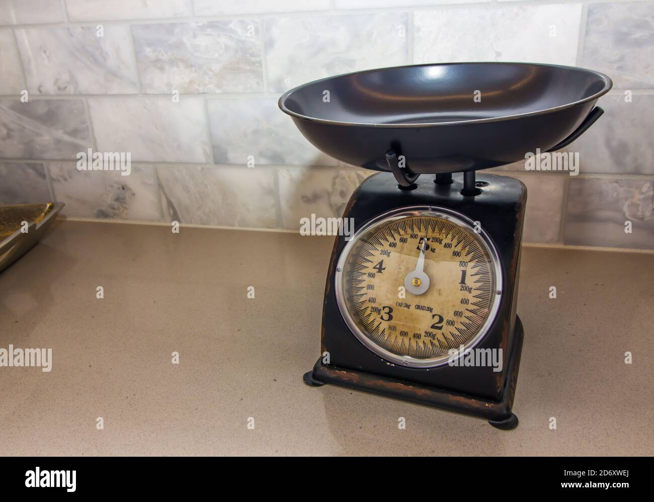 Vintage Kitchen Scale High Resolution Stock Photography And Images Alamy