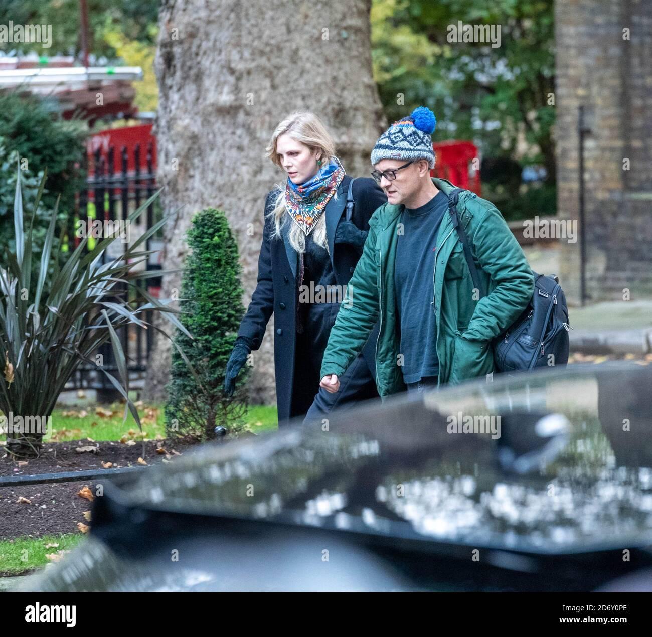 London, UK. 20th Oct, 2020. Dominic Cummings arrives at Downing Street London. Credit: Ian Davidson/Alamy Live News Stock Photo