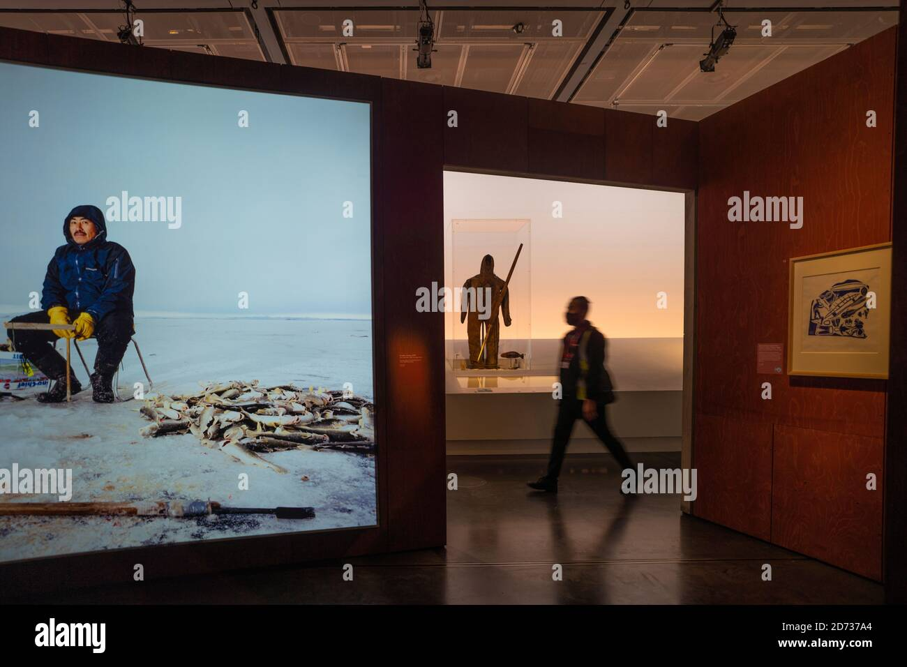 London, UK. 20th Oct, 2020. The Arctic Culture and Climate Citi exhibition at The British Museum. Photo date: Tuesday, October 20, 2020. Photo: Roger Garfield/Alamy Live News. Stock Photo