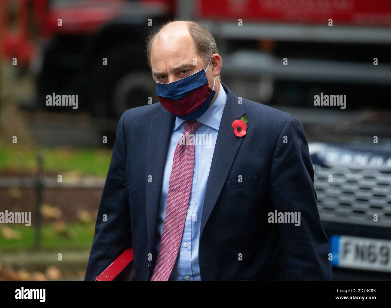 London, UK. 20th Oct, 2020. Ben Wallace, Secretary of State for Defence, arrives for the weekly Cabinet meeting. Credit: Mark Thomas/Alamy Live News Stock Photo