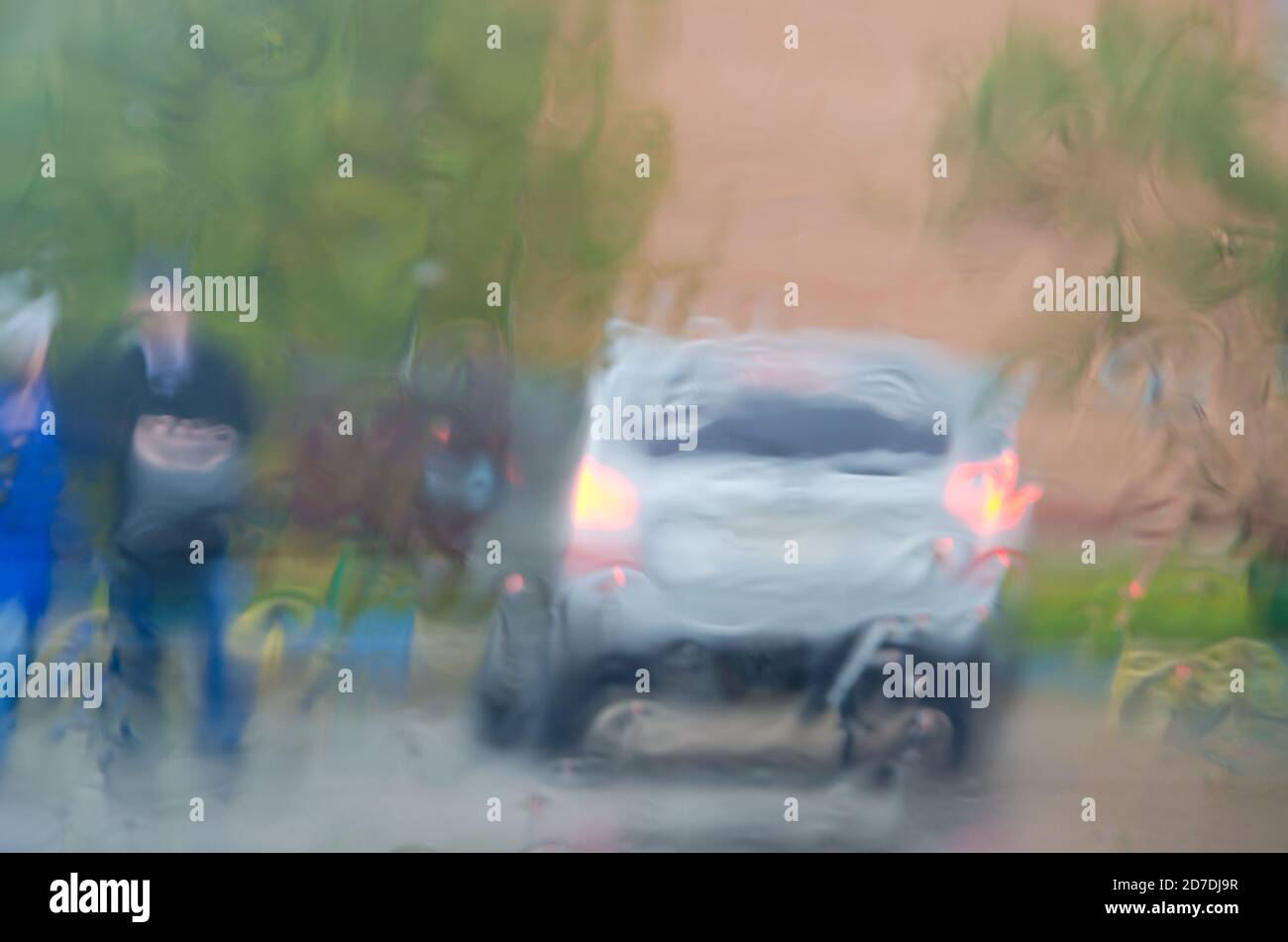 adverse weather conditions high resolution stock photography and images alamy https www alamy com adverse driving conditionsheavy rainview through car windshield image383230451 html