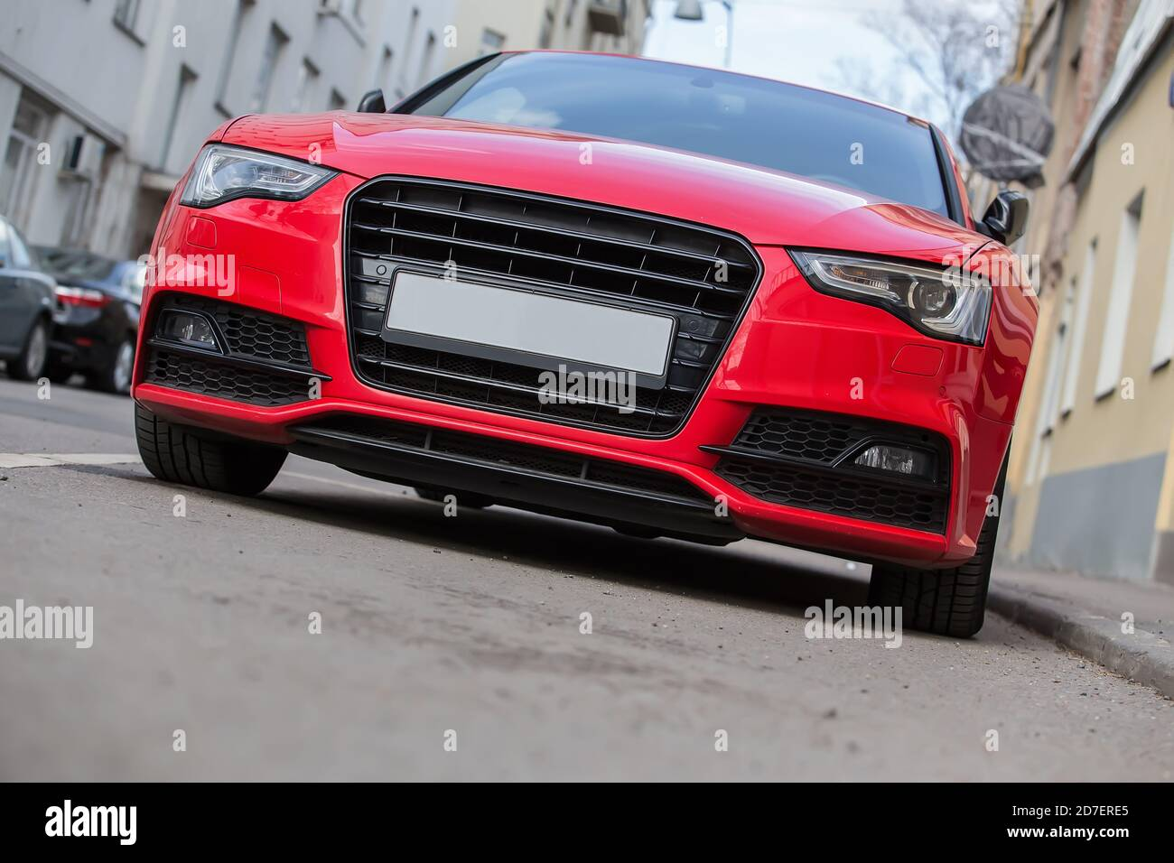 Red Luxury Car High Resolution Stock Photography And Images Alamy