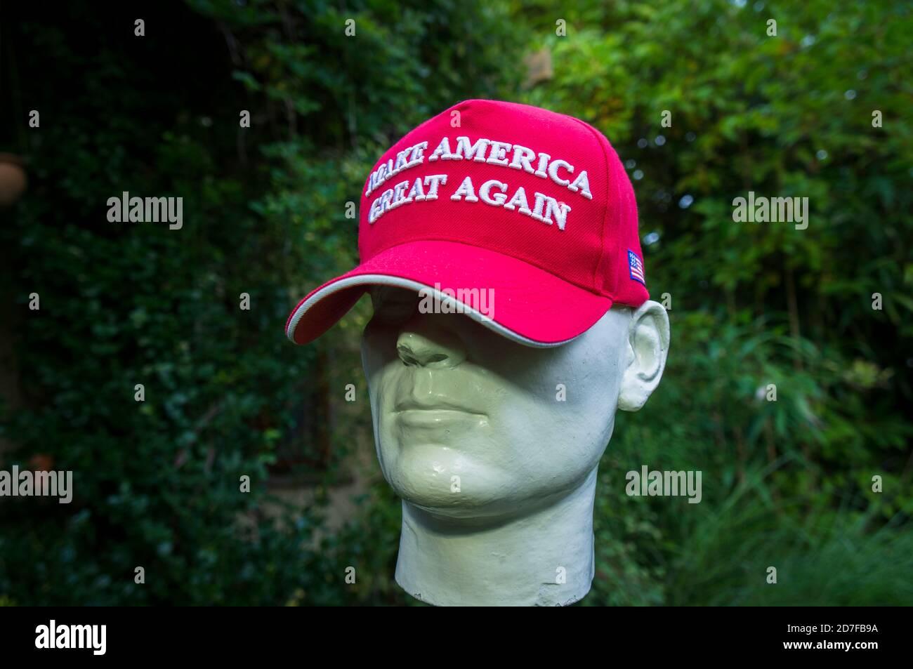 MAKE AMERICA MIGRATE AGAIN Embroidered Blue Hat Democrat President Campaign Cap