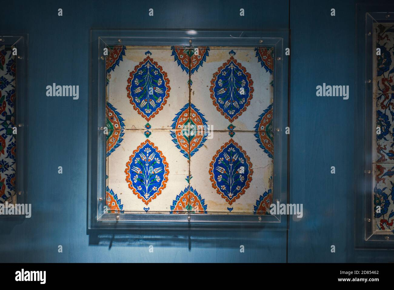 Ceramic Tiles from Ottoman Empire Stock Photo