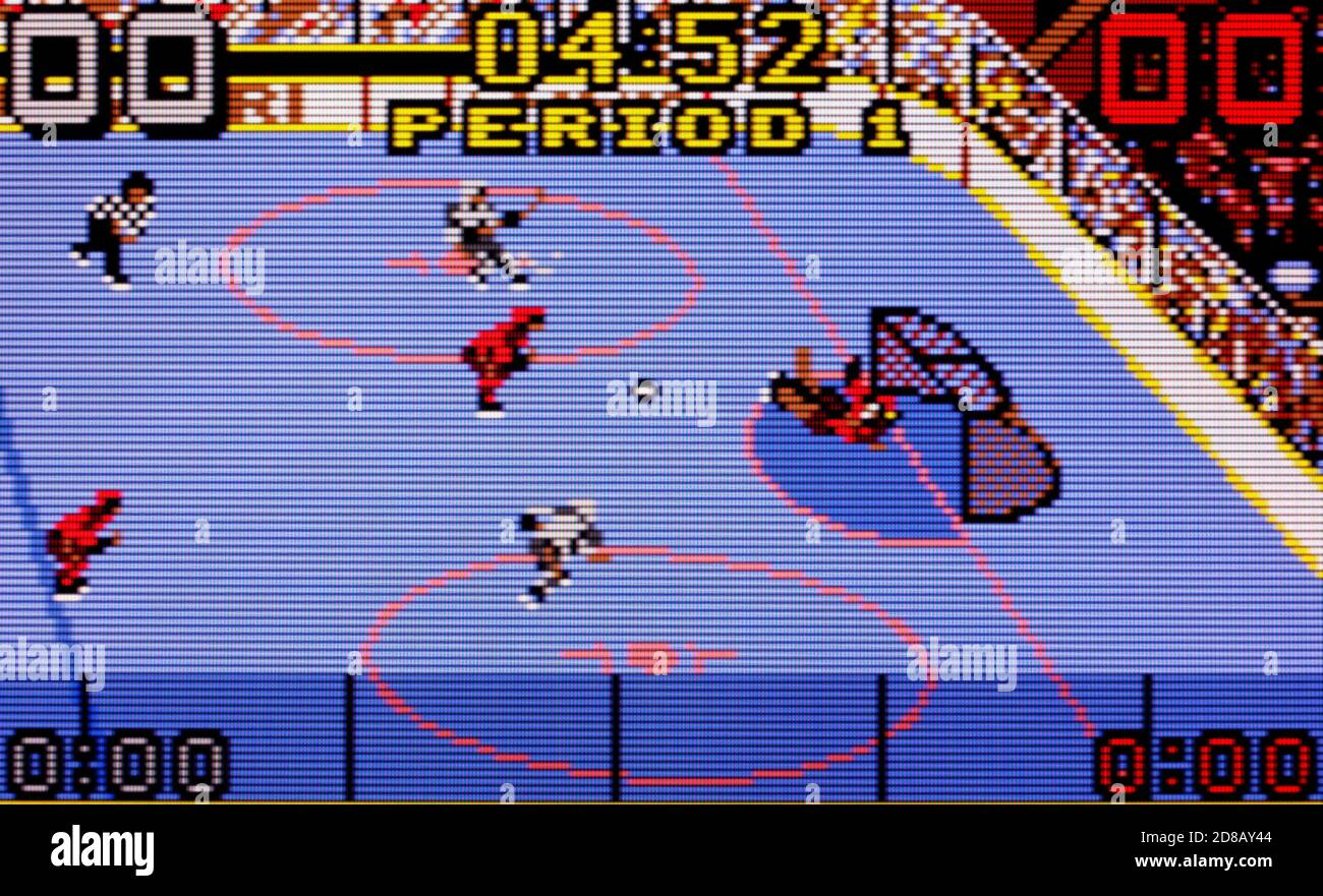 Hockey - Atari Lynx Videogame - Editorial use only Stock Photo