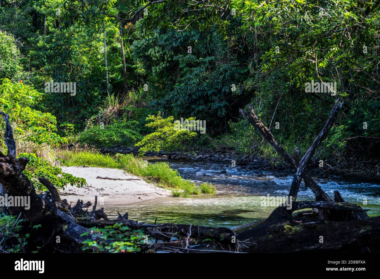 Babinda Boulders near Cairns, Far North Queensland, Australia Stock Photo