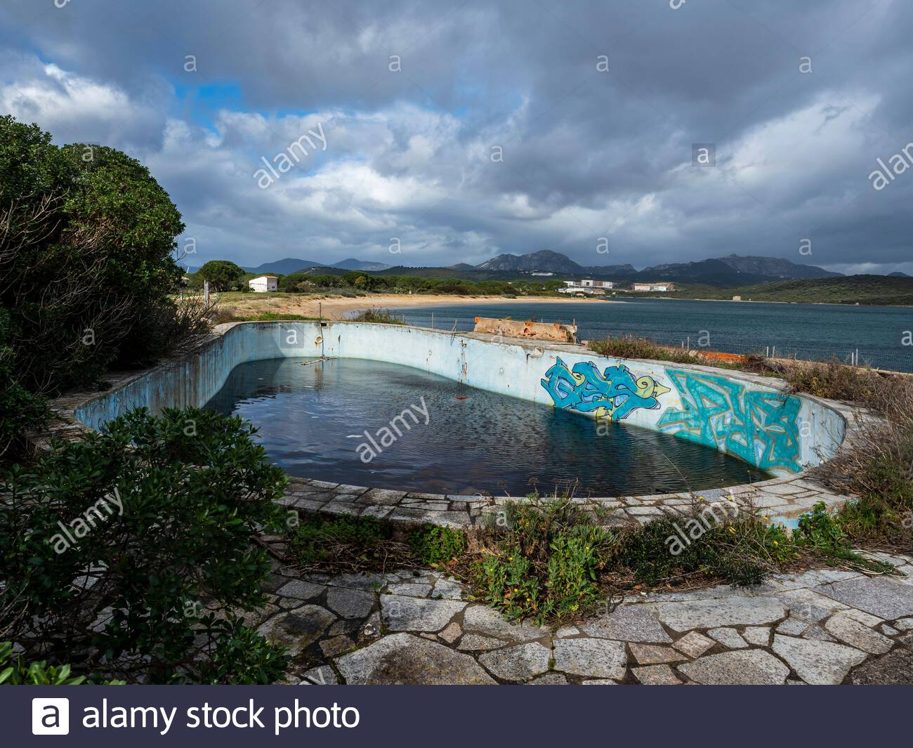 Waste Concrete Swimming Pool High Resolution Stock Photography And Images Alamy