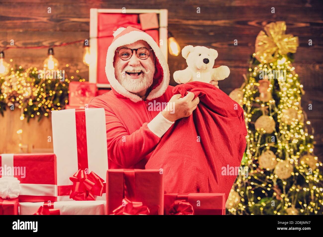 Christmas Tote Bag Shopper Xmas Holiday Funny Santa Father Funny Party Gift