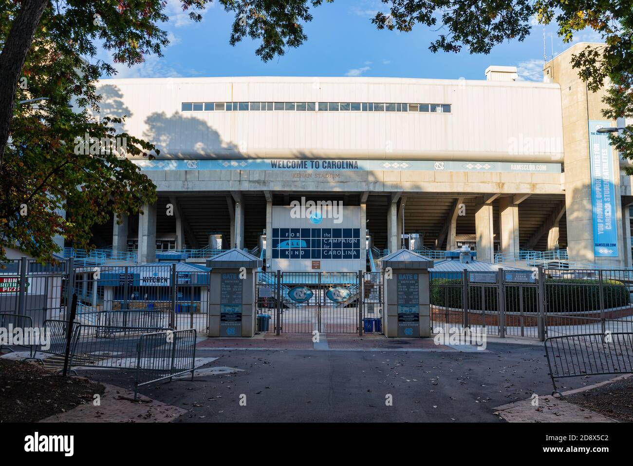 Chapel Hill, NC / USA - October 23, 2020: Kenan Stadium on the campus of the University of North Carolina Stock Photo