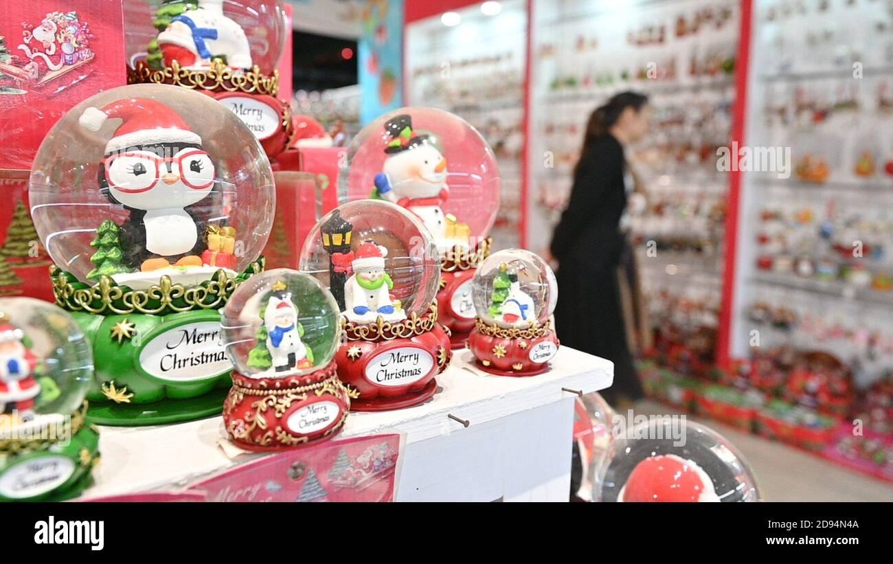How Long Has It Been Since Christmas 2020 201103)    DEHUA, Nov. 3, 2020 (Xinhua)    Porcelain Christmas