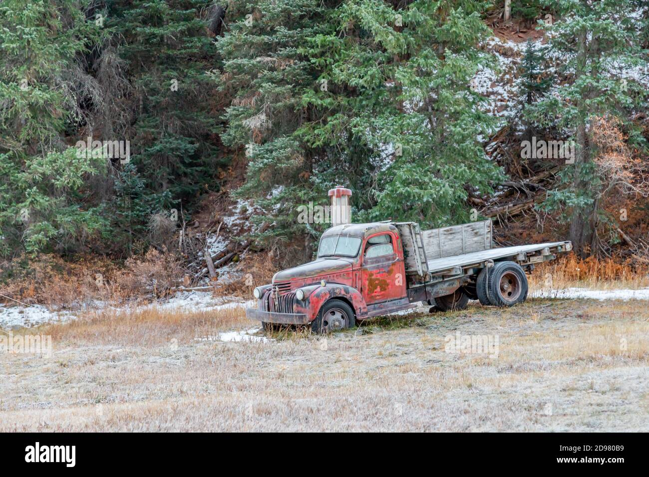 Flat Bed Truck High Resolution Stock Photography And Images Alamy