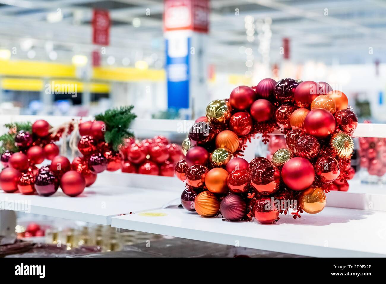 Christmas Supermarket High Resolution Stock Photography And Images Alamy