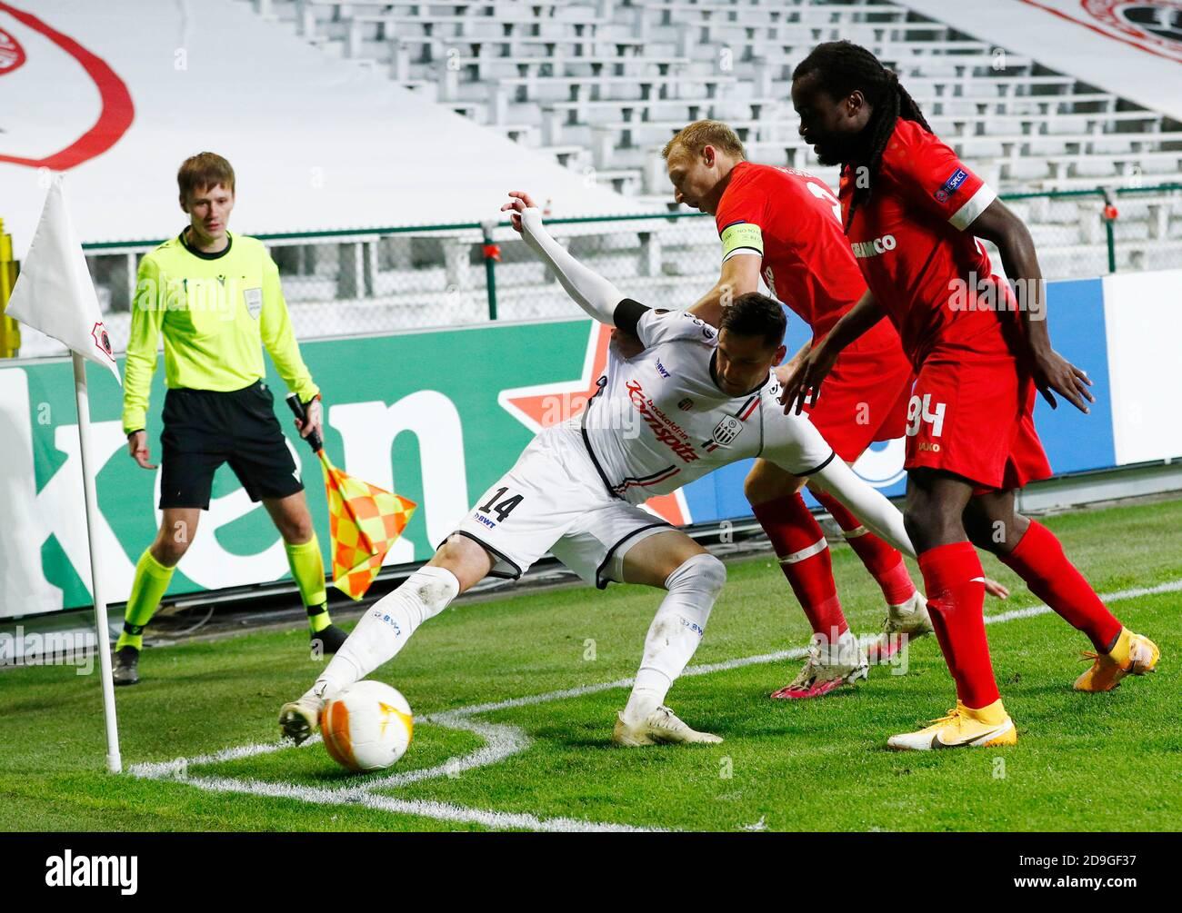 Antwerp Vs Lask Antwerp Vs Lask 0 1 Europa League 05 11 2020 Hd Youtube
