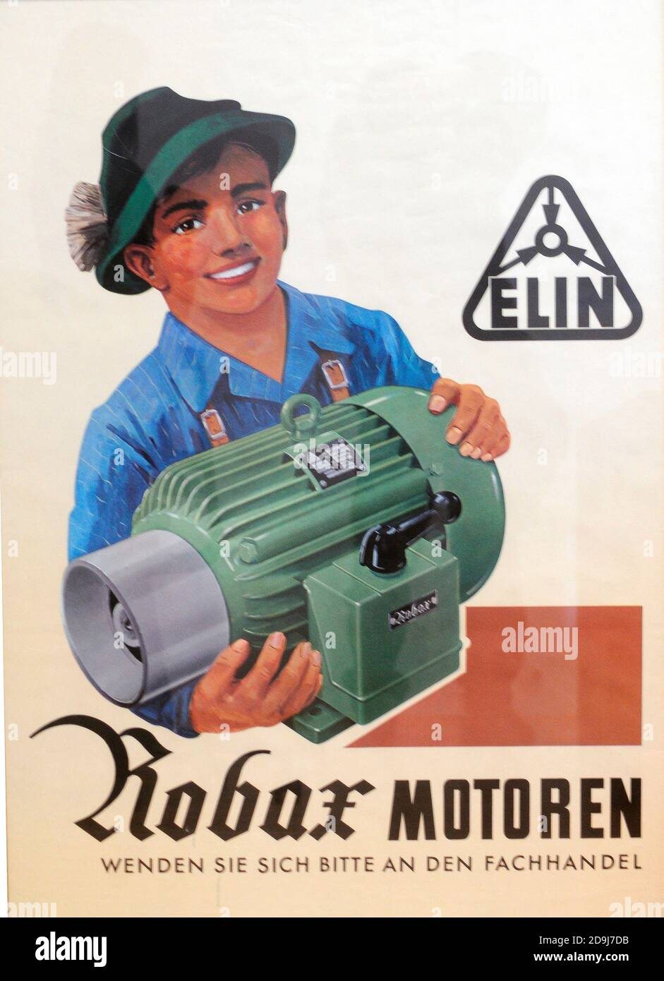 elin motoren Stock Photo