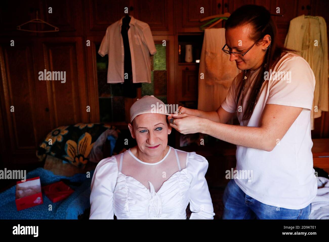 Transgender marrying woman a Can You