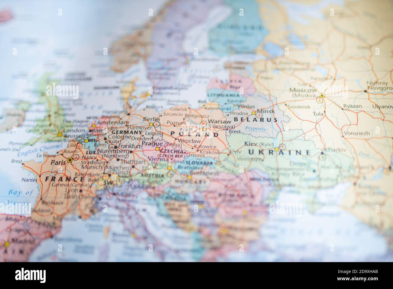 Germany Outline Silhouette Map Illustration High Resolution Stock Photography And Images Alamy