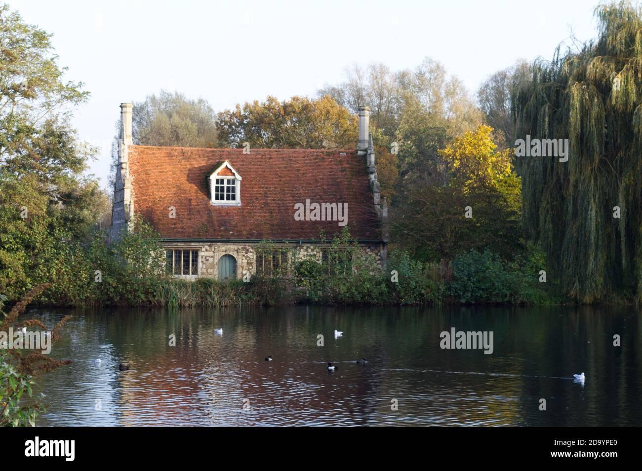 Bourne Mill, Colchester, Essex Stock Photo