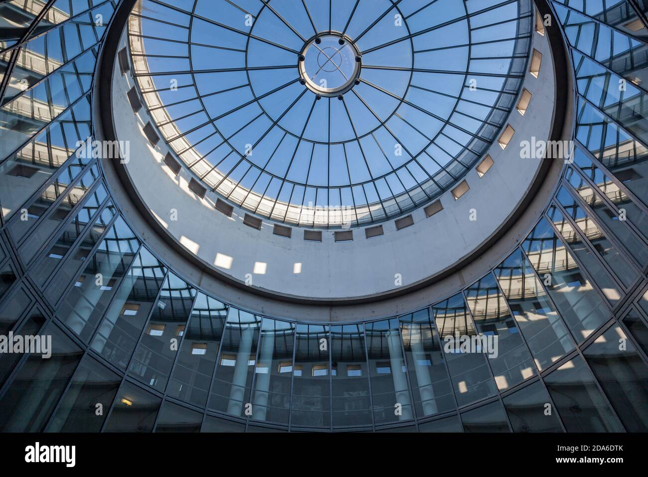 geography / travel, Germany, Hesse, Frankfurt on the Main, the SCHIRN art gallery in of the Bendergass, Additional-Rights-Clearance-Info-Not-Available Stock Photo