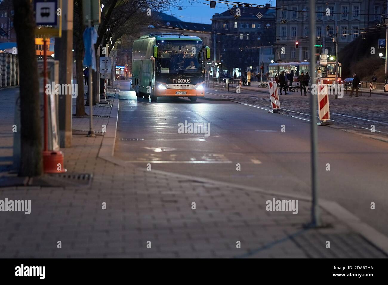 Flixbus Bus Stop High Resolution Stock Photography And Images Alamy