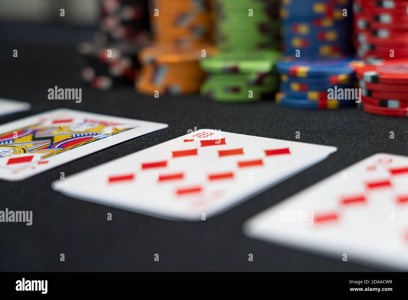 Playing Cards Table High Resolution Stock Photography And Images Page 5 Alamy