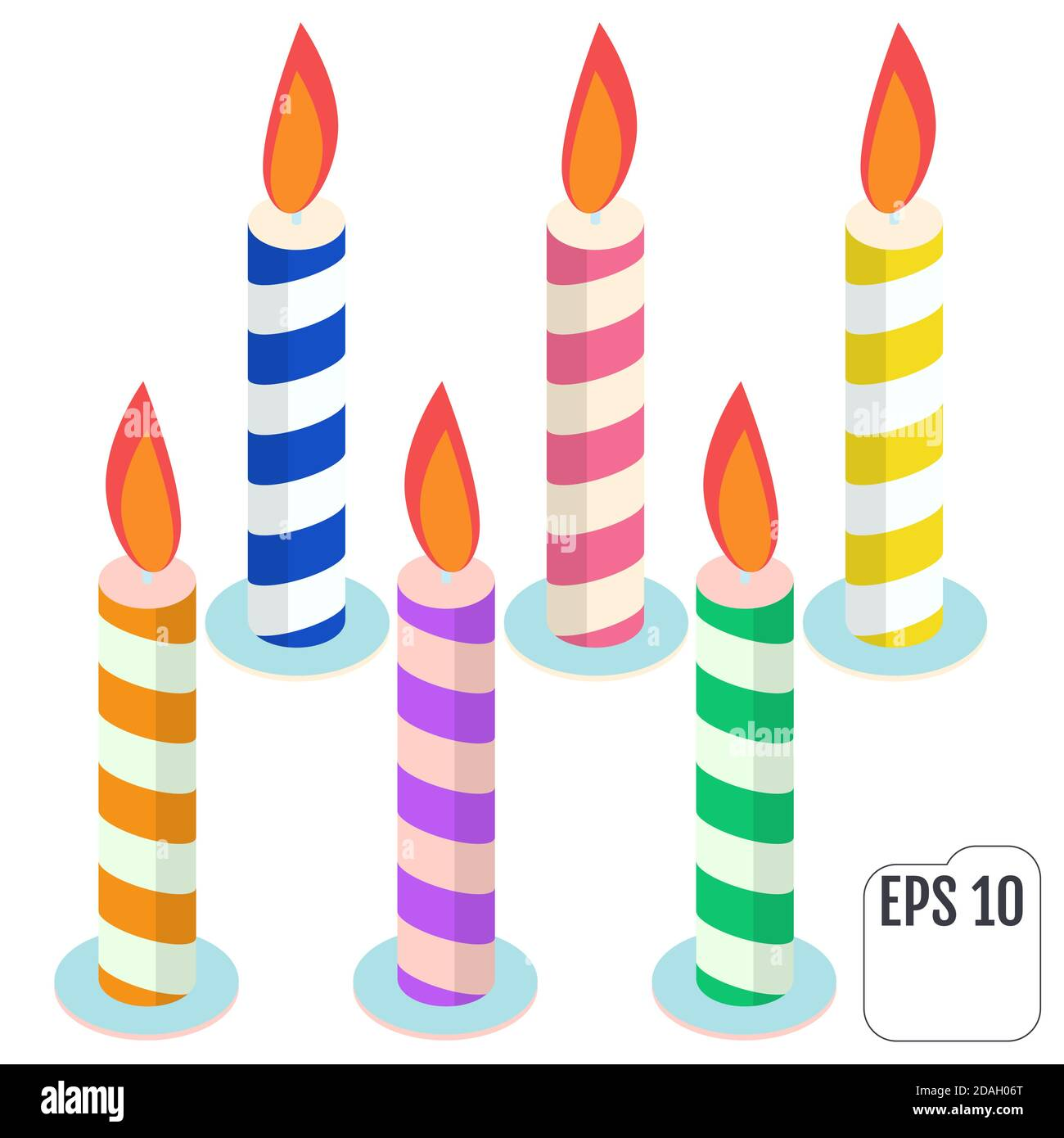 1 Year Candle Cake High Resolution Stock Photography And Images Alamy