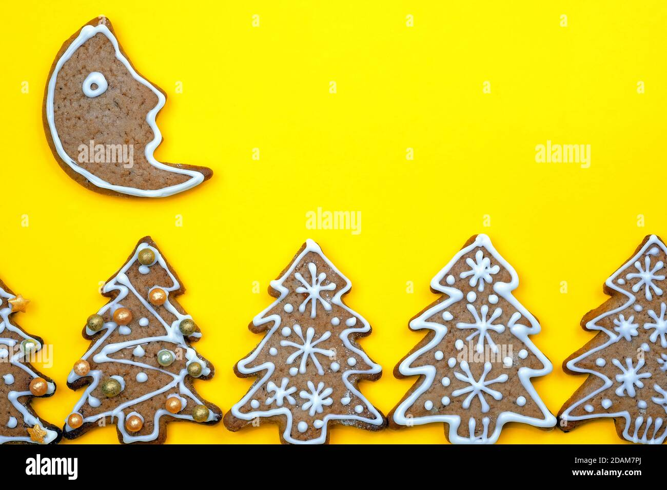 Moon Christmas Tree Decoration High Resolution Stock Photography And Images Alamy