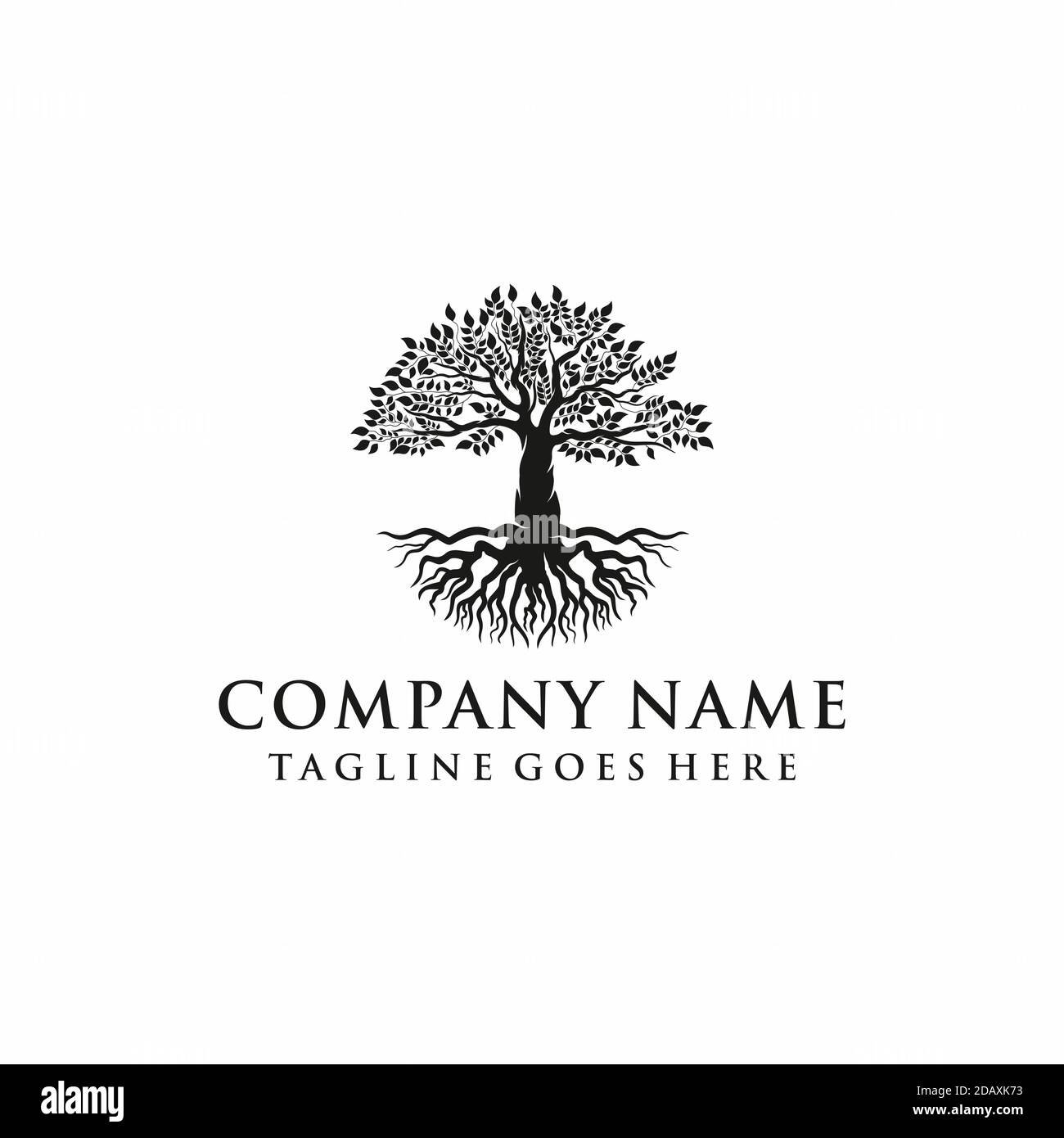Banyan Tree Logo High Resolution Stock Photography And Images Alamy