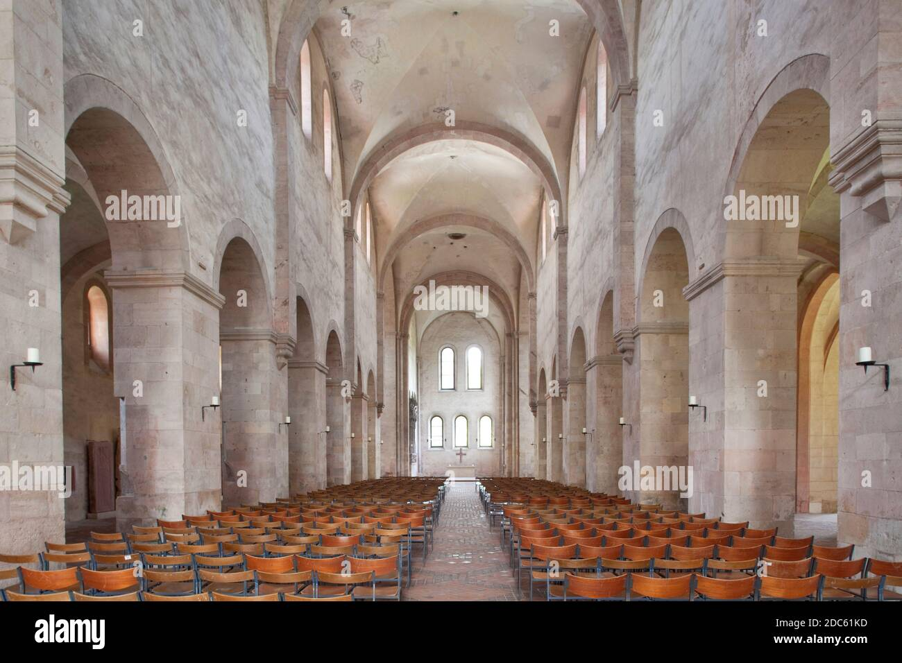 geography/travel, Germany, Hesse, Eltville at Rhine, basilica of monastery Eberbach, Eltville at Rhine, Additional-Rights-Clearance-Info-Not-Available Stock Photo