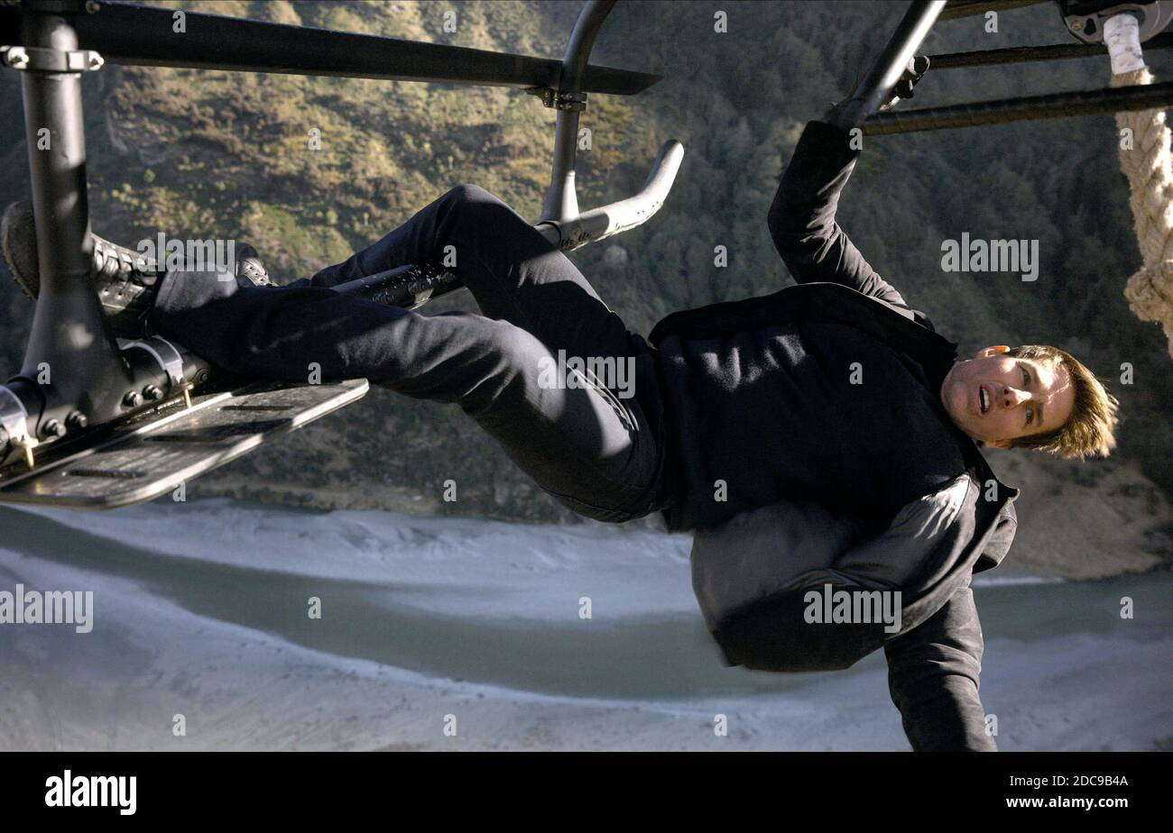 TOM CRUISE, MISSION: IMPOSSIBLE - FALLOUT, 2018  © PARAMOUNT Stock Photo