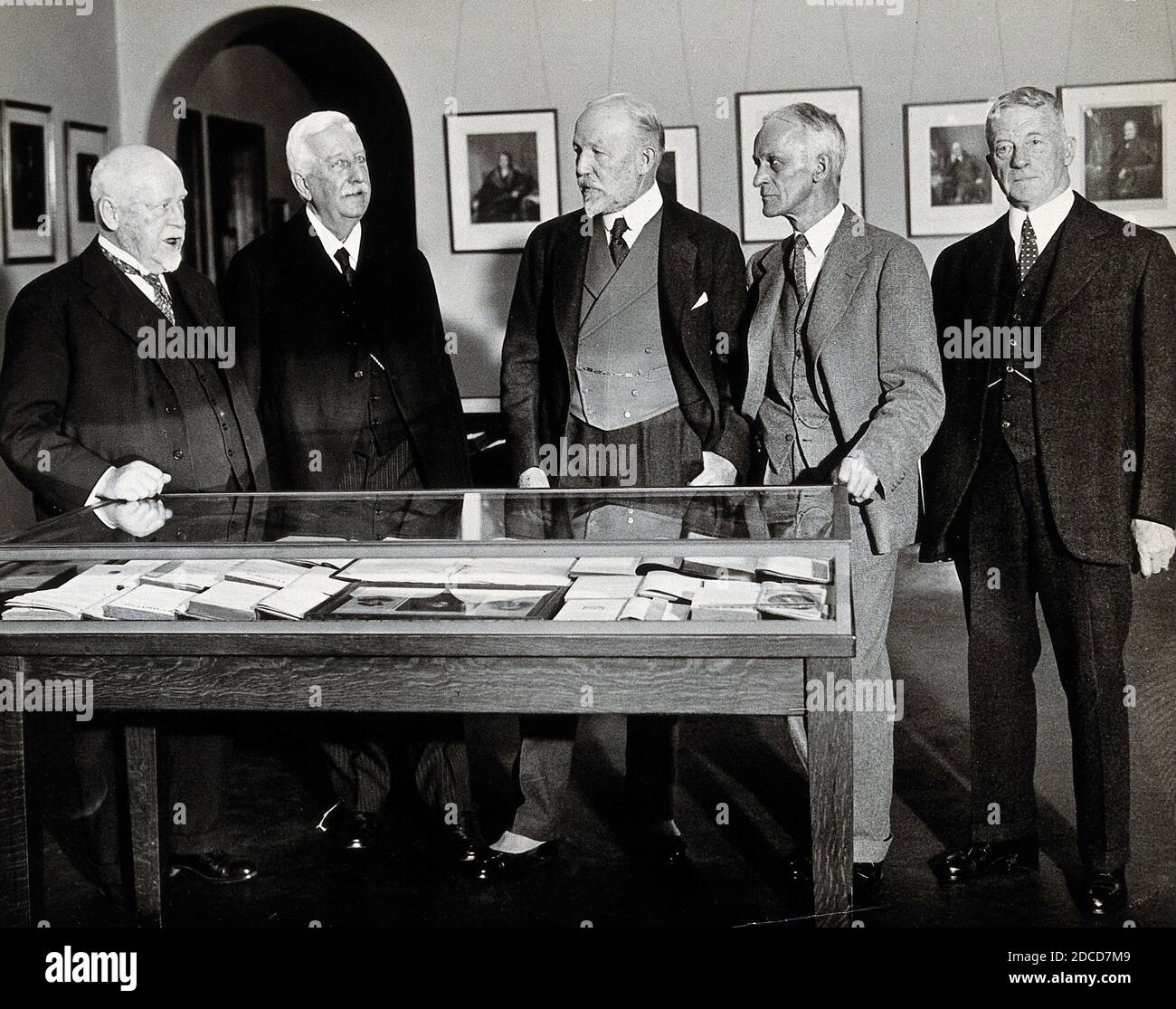 Harvey Williams Cushing and others, 1932 Stock Photo
